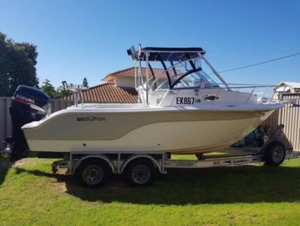 Seafox 216 WA fishing boat for sale