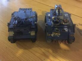 Warhmer 40k tanks