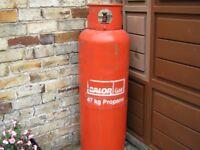 Calor Propane Gas Bottle 47kg Wanted. Full.