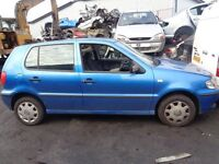 BREAKING --- VW POLO E 1L Petrol --- 2000