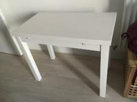Ikea Djursta white table