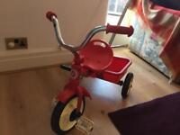 Retro Red Classic Line Trike