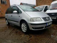 2007 57 Volkswagen Sharan 1.9 TDI 115 - 7 Seater - Sat Nav - 3 Months Warranty