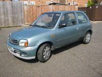 2001 Nissan Micra 1.0 AUTOMATIC, Mot Dec 16. 76k. £375. (PLS NO TXTS)