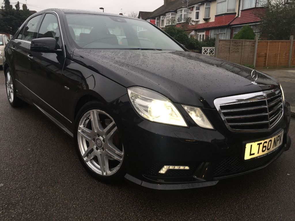 2010 60 plate mercedes e class e350 cdi blue efficiency sport amg black diamond in enfield. Black Bedroom Furniture Sets. Home Design Ideas