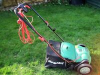 Used Qualcast Electric Lawn Scarifier.