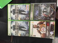 20 XBOX 360 games for sale