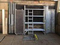 BOSS SCAFFOLD TOWER DOUBLE EVOLUTION 6.2M WH X 1.8M