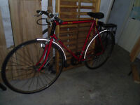 vintage retro raleigh ace eroica racer town bike