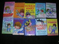 horrid henry books