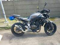 Yamaha MT07 ABS