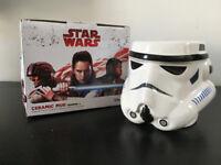 Disney Star Wars mug Trooper, by Primark, White mug, character shaped