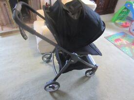 Mamas & Papas black Armadillo Flip pushchair/buggy