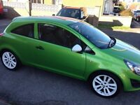 Reduced price Vauxhall Corsa Sting 1.2 £6500 low mileage