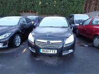 2011 VAUXHALL INSIGNIA 2LT DIESEL ECO FLEX CARBON FLASH DAMAGED REPAIRABLE