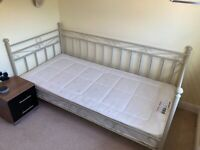 Single Day Bed Frame & Mattress