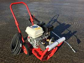 New 6.5HP Petrol Honda GP200 Engine Driven Semi Industrial High Pressure/Power Washer 165 Bar