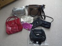 Bargain collection of 8 assorted handbags
