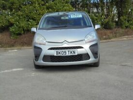 image for Citroen, C4 PICASSO, MPV, 2009, 1.6 petrol just had brand new clutch will come with brand new mot