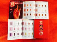 100 Nail Art Books Ideal for car boots.