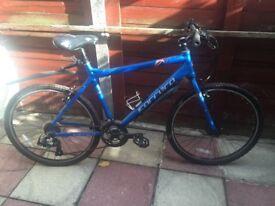 Old hybrid bikes still working! Free bike locks too. £10 & £40