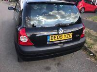 Renault Clio 1150cc 05 plate 78k