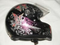 ladies SHARP crash helmet. never been in an accident