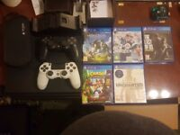 Playstation 4 Pro + Vita (with accessories and games)