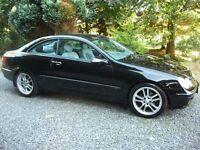 2004 Mercedes Benz, CLK, 270, CDi, Diesel, Avantgarde, Auto Tip, Coupe