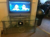 Tv stand and tv