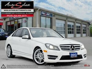 2013 Mercedes-Benz C-Class 4Matic C350 AWD ONLY 70K! **TECHNO...