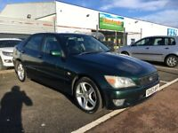 2003 LEXUS IS200 SE 4dr Auto,one year Mot,px to clear