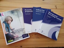 AAT Accounting - Level 3 Diploma books £10 for all