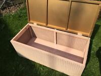 Lloyd loom lusty ottoman storage chest