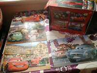 Pixar Cars Puzzle Used as New