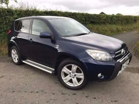SEPTEMBER 2008 TOYOTA RAV4 2.2 SR180 D-4D MOT VERY WELL LOOKED AFTER MAY PART EX 12 MONTHS MOT