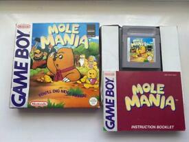 Mole Mania - Nintendo Gameboy - Complete