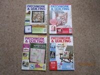 Patchwork & Quilting Magazines 2013 (11 Issues)