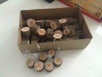 Autumn/wood table decorations £20