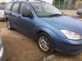 Ford Focus estate 1.8 diesel