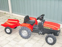 Tractor and Trailer suitable for 2 - 5 years old in good condition