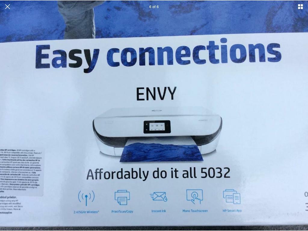 HP HP Envy 5020 All-in-One Wireless Printer Scanner | in Luton,  Bedfordshire | Gumtree
