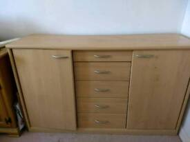 IKEA cupboard and drawer unit