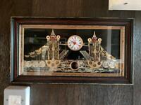 Tower Bridge Clock L:45cm, H:25cm, W:7cm Signed by Artist Maker