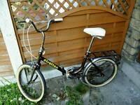 Folding Bike,fully working ,Italian brand,was £250