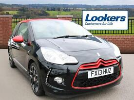 Citroen DS3 E-HDI AIRDREAM DSPORT RED (black) 2013-03-18