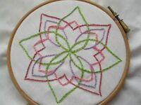 Medallion Hand Embroidery Design