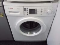 BOSCH 7KG USED WASHING MACHINE+FREE BH ONLY POSTCODES DELIVERY,INSTALL & GUARANTEE