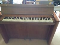 Eavestaff Minipiano 1920s Art Deco Minipiano Endorsed by HRH Pricess Of Sweden