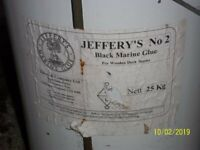 Traditional Marine Glue Jefferys 25Kg Drum